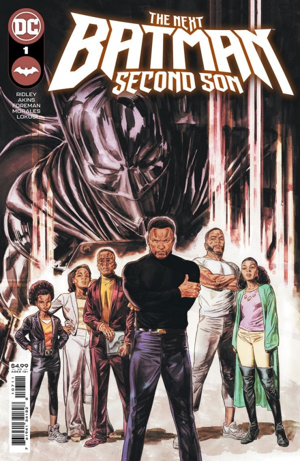 NEXT BATMAN SECOND SON #1 (OF 4) COVER A DOUG BRAITHWAITE