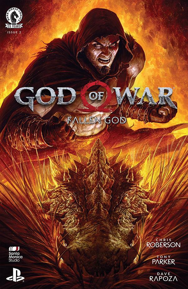 GOD OF WAR FALLEN GOD #2 (OF 4)