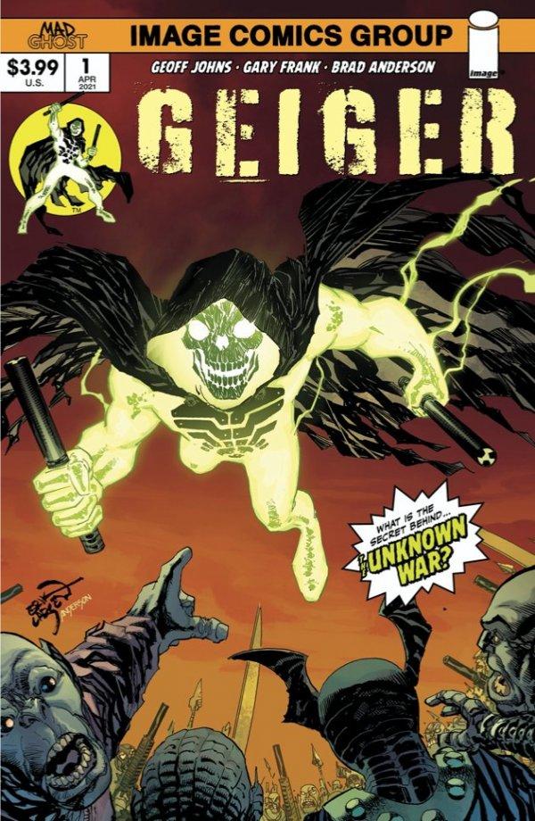GEIGER #1 COVER B LARSEN