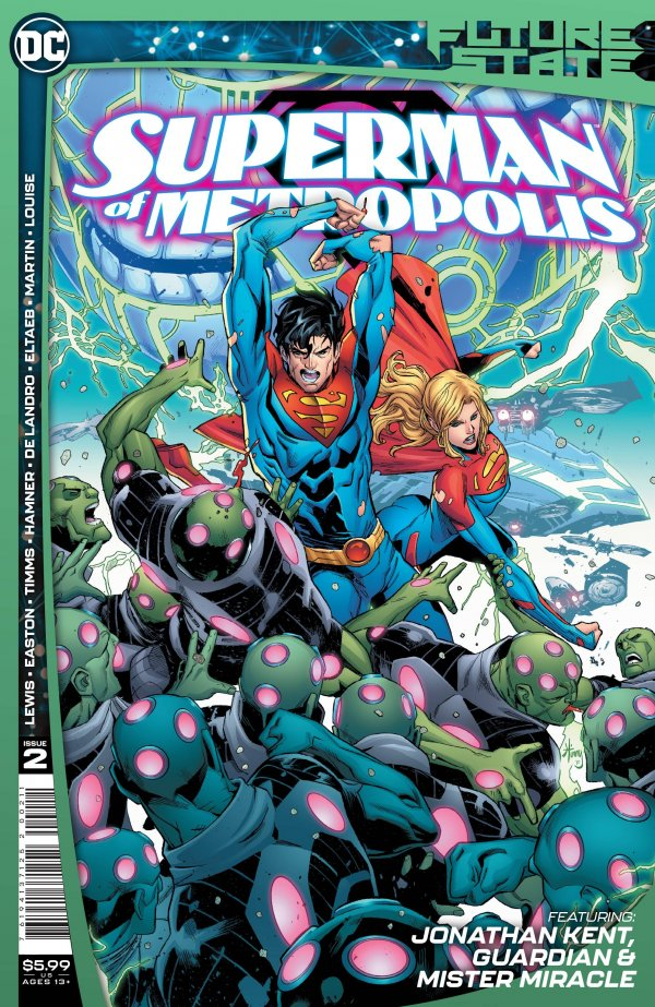 FUTURE STATE SUPERMAN OF METROPOLIS #2 (OF 2) COVER A JOHN TIMMS