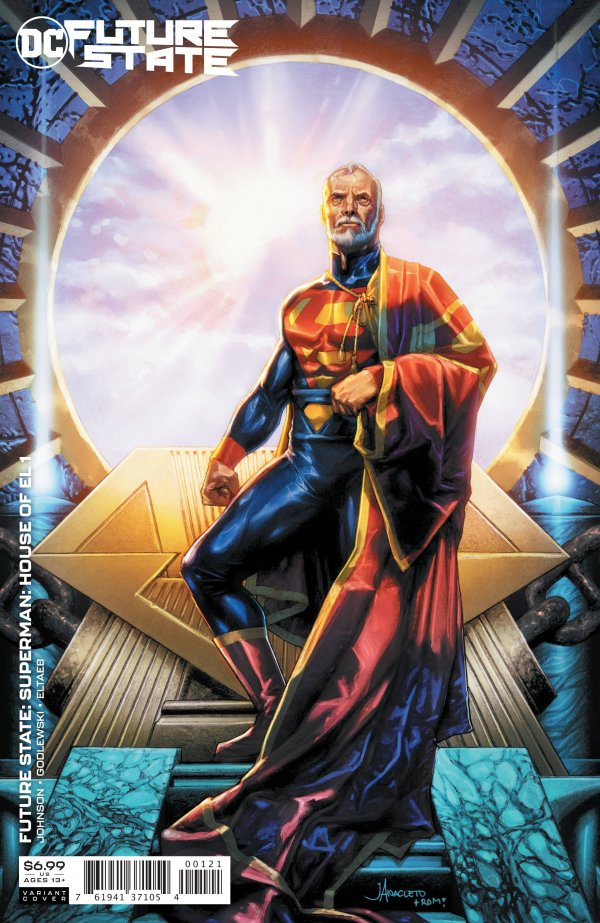 FUTURE STATE SUPERMAN HOUSE OF EL #1 (ONE SHOT) COVER B JAY ANACLETO CARD STOCK VARIANT
