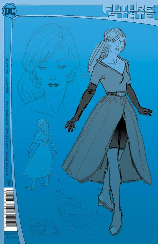 FUTURE STATE KARA ZOR-EL SUPERWOMAN #1 2ND PTG