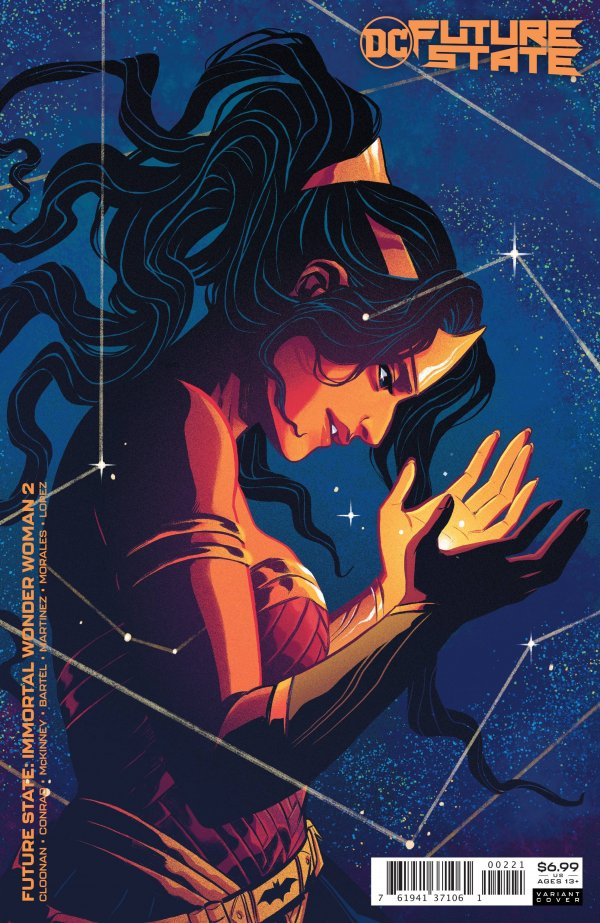 FUTURE STATE IMMORTAL WONDER WOMAN #2 (OF 2) COVER B BECKY CLOONAN CARD STOCK VARIANT