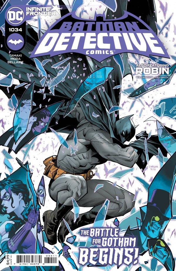 DETECTIVE COMICS #1034 COVER A DAN MORA