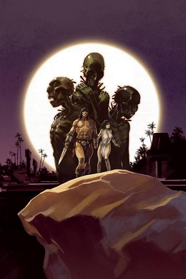 CIMMERIAN IRON SHADOWS IN MOON #1 COVER B AUGUSTIN