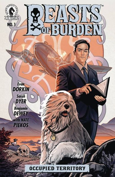 BEASTS OF BURDEN OCCUPIED TERRITORY #1 (OF 4) COVER A DEWEY