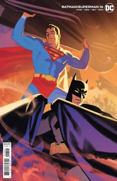 BATMAN SUPERMAN #16 COVER B GREG SMALLWOOD VARIANT