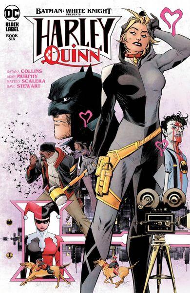 BATMAN WHITE KNIGHT PRESENTS HARLEY QUINN #6 (OF 6) COVER A SEAN MURPHY