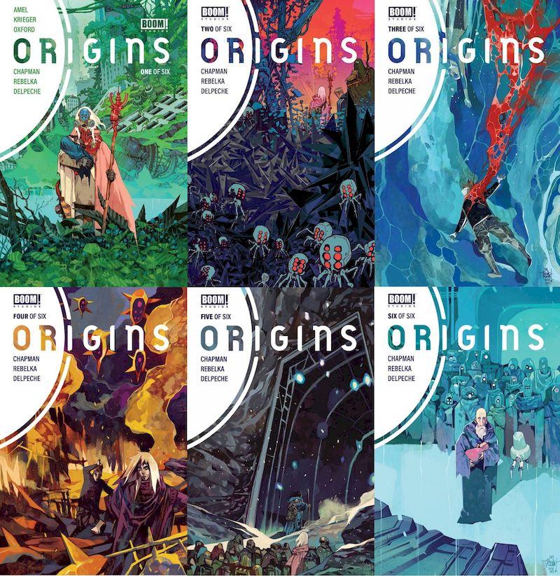 ORIGINS #1 - #6 (OF 6) SET