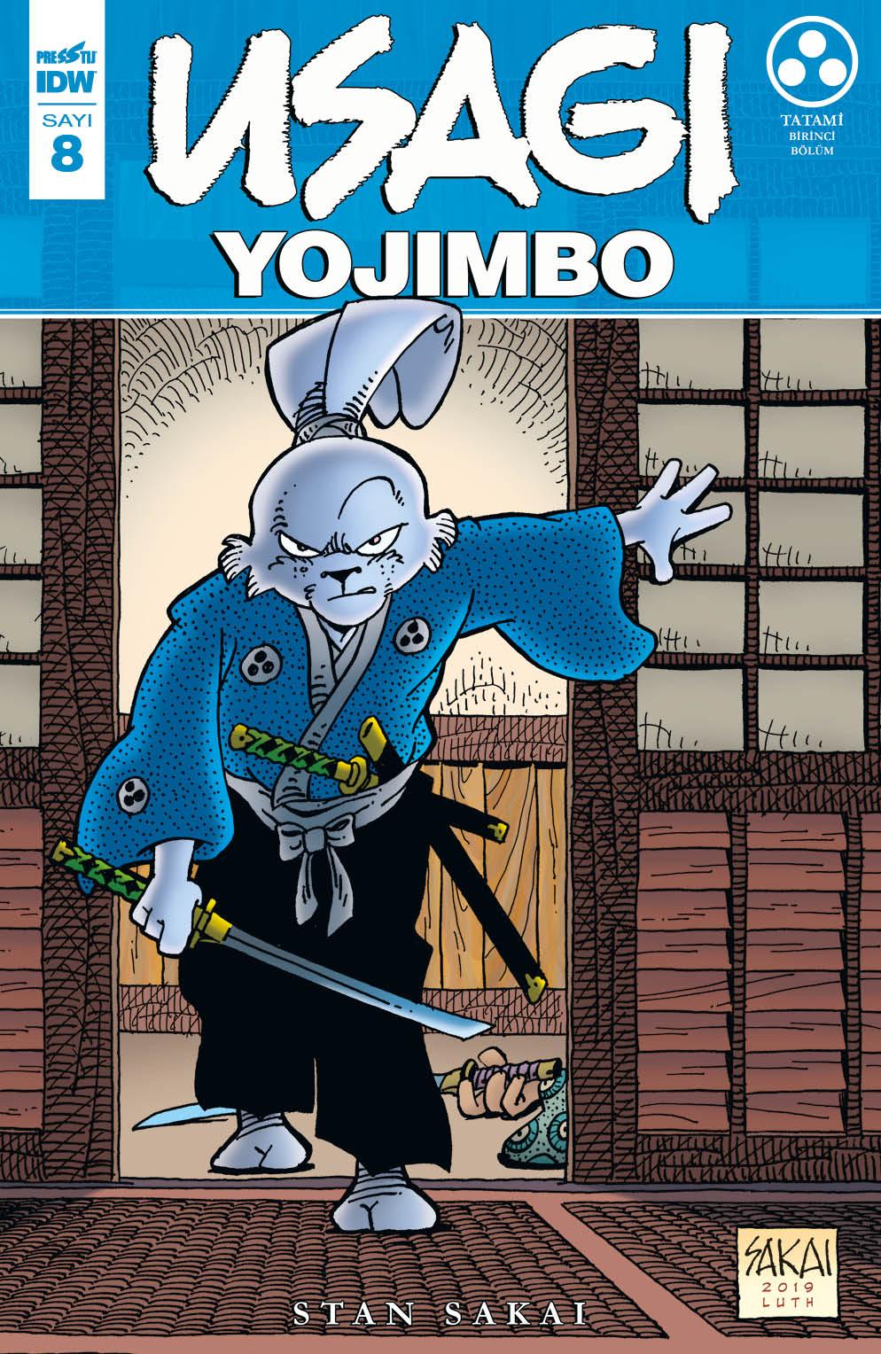 Usagi Yojimbo Sayı 8
