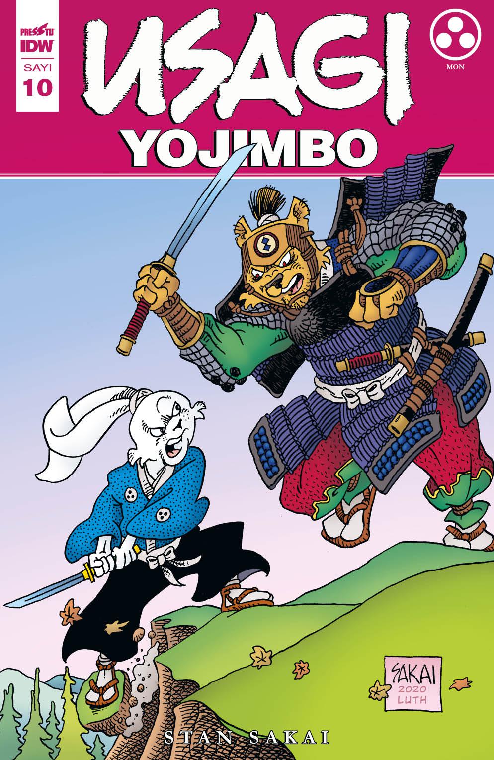 Usagi Yojimbo Sayı 10