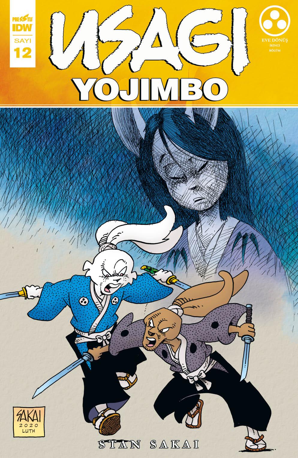 Usagi Yojimbo Sayı 12