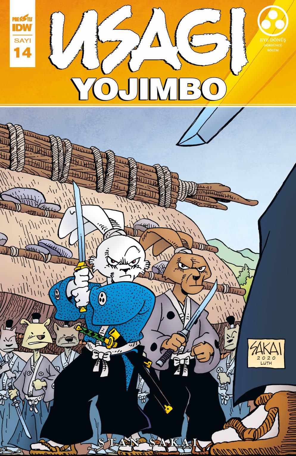Usagi Yojimbo Sayı 14