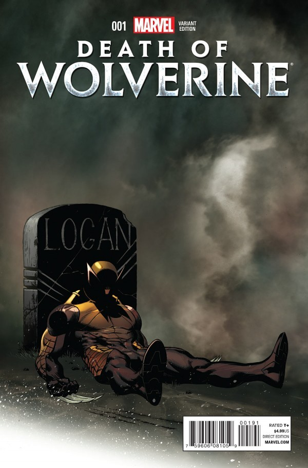 DEATH OF WOLVERINE #1 MORTAL VARIANT