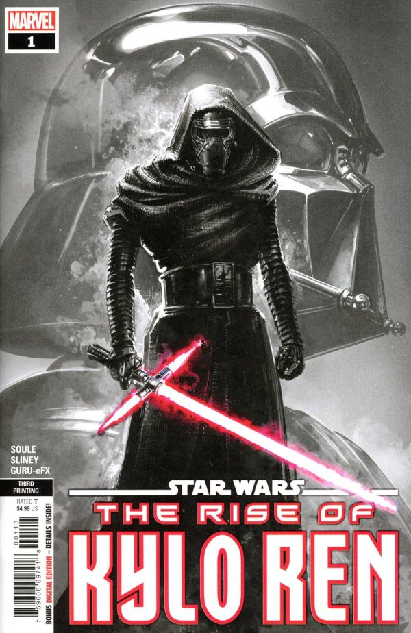 THE RISE OF KYLO REN 3rd PRINTING