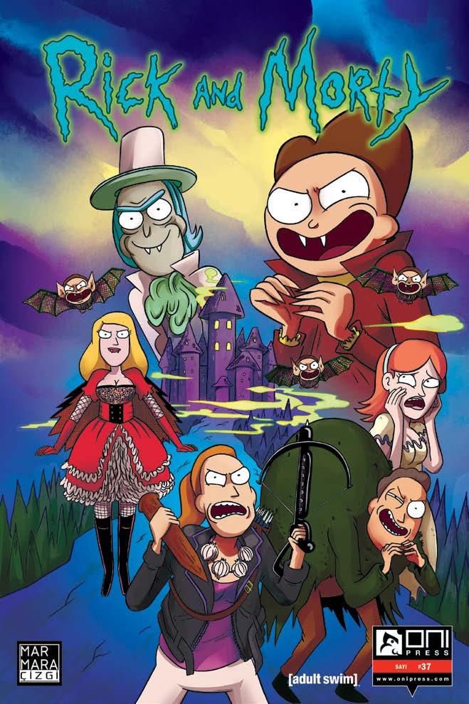 Rick And Morty Sayı 37