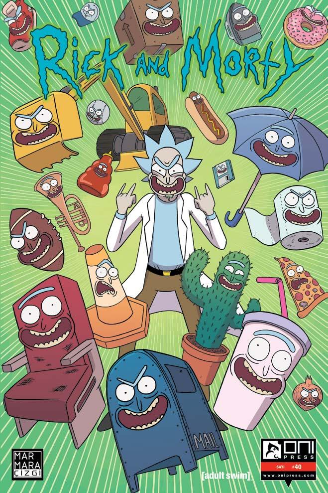Rick And Morty Sayı 40