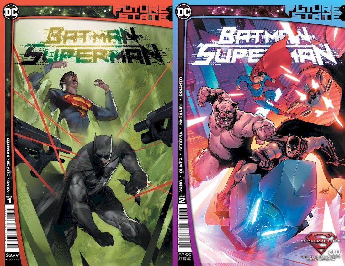 FUTURE STATE BATMAN SUPERMAN #1 - #2 (OF 2) SET