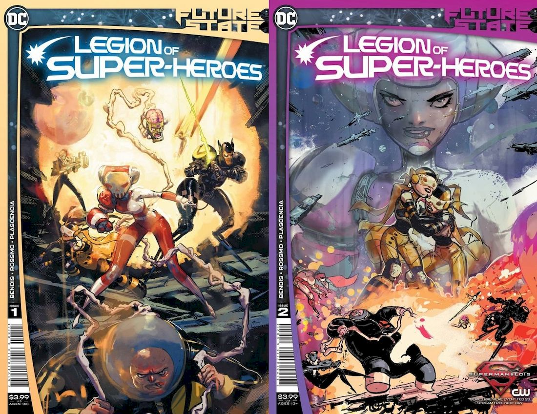 FUTURE STATE LEGION OF SUPER-HEROES #1 - #2 (OF 2) SET