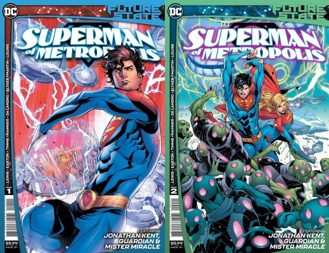 FUTURE STATE SUPERMAN OF METROPOLIS #1 - #2 (OF 2) SET