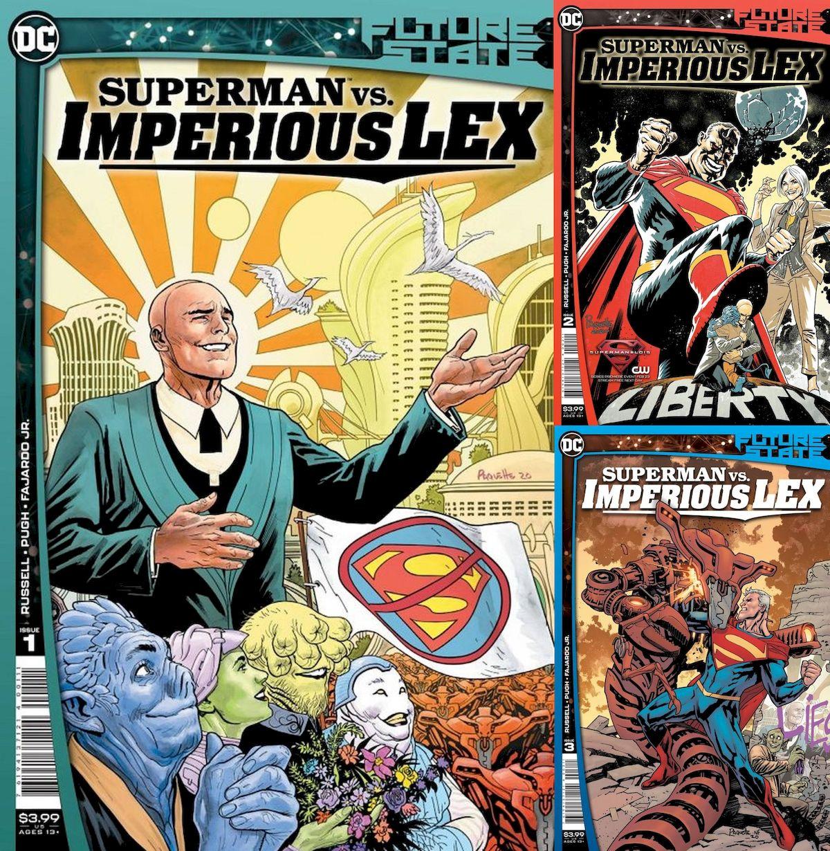 FUTURE STATE SUPERMAN VS IMPERIOUS LEX #1 - #3 (OF 3) SET