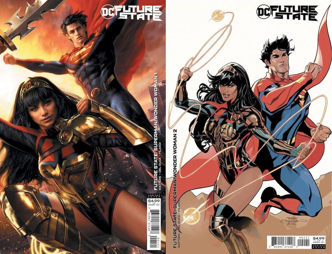 FUTURE STATE SUPERMAN WONDER WOMAN #1 - #2 (OF 2) VARIANT SET