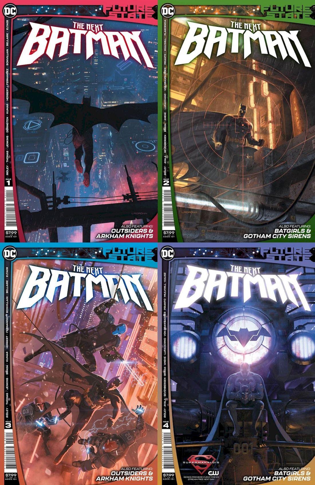 FUTURE STATE THE NEXT BATMAN #1 - #4 (OF 4) SET