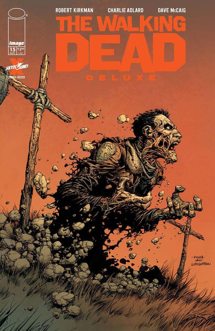 WALKING DEAD DLX #15 COVER A FINCH & MCCAIG