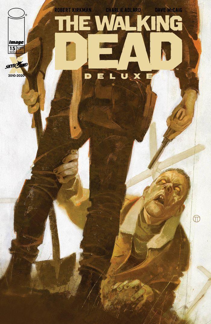 WALKING DEAD DLX #15 COVER D TEDESCO