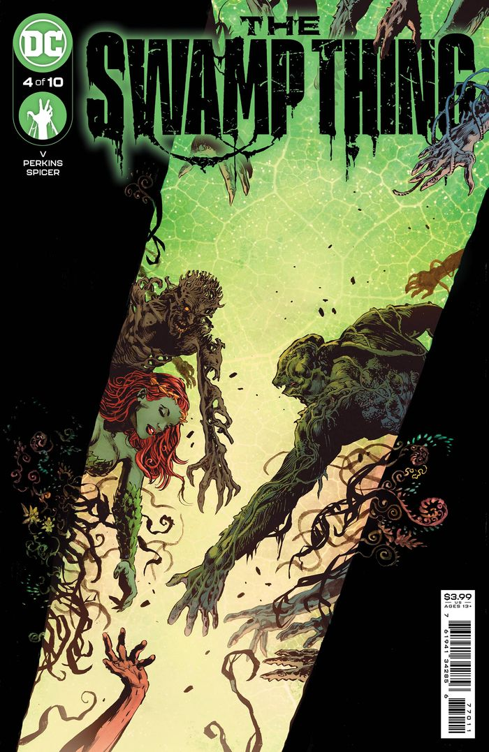 SWAMP THING #4 (OF 10) COVER A MIKE PERKINS & MIKE SPICER