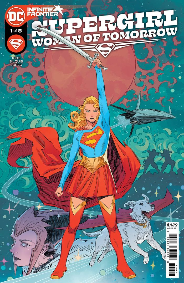 SUPERGIRL WOMAN OF TOMORROW #1 (OF 8) COVER A BILQUIS EVELY