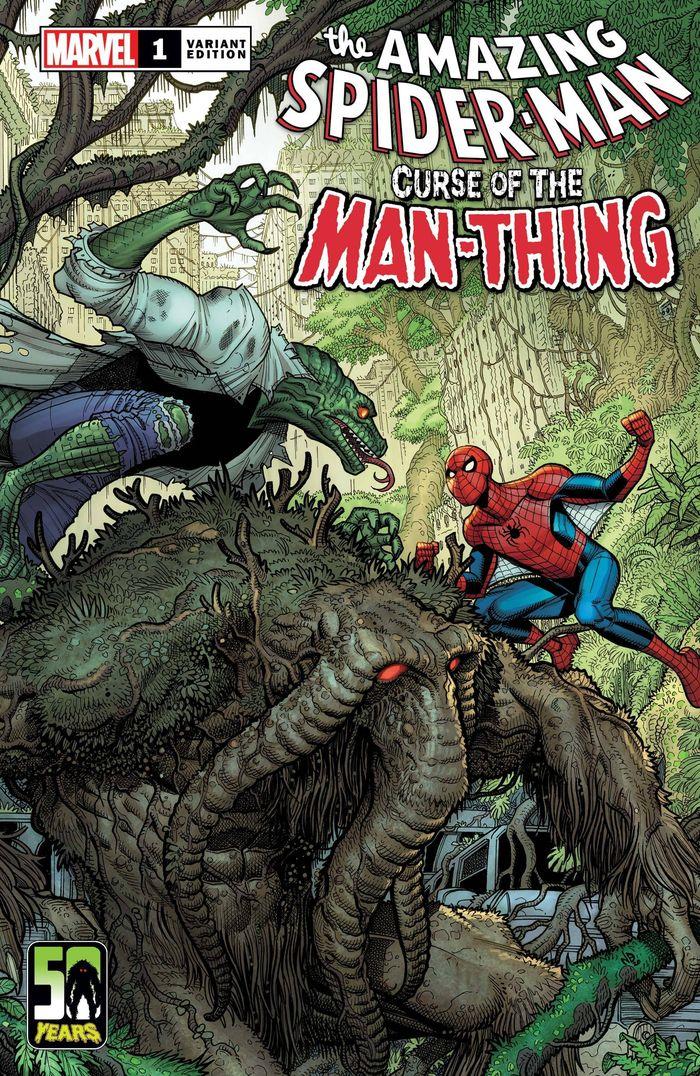 SPIDER-MAN CURSE OF MAN-THING #1 BRADSHAW VARIANT