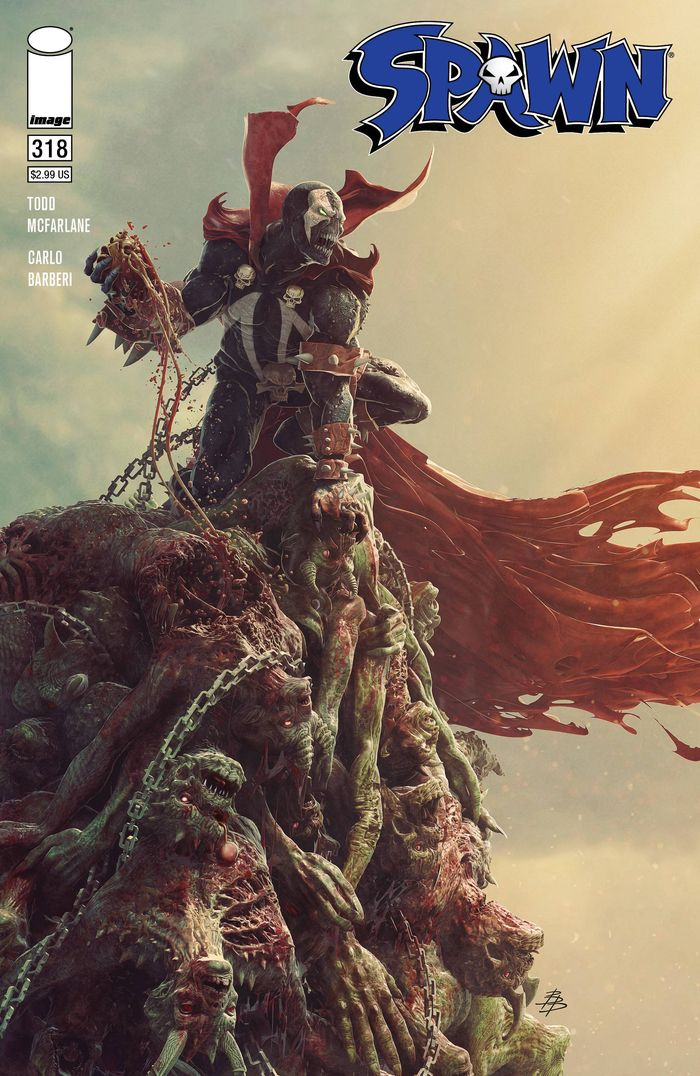 SPAWN #318 COVER C BARENDS