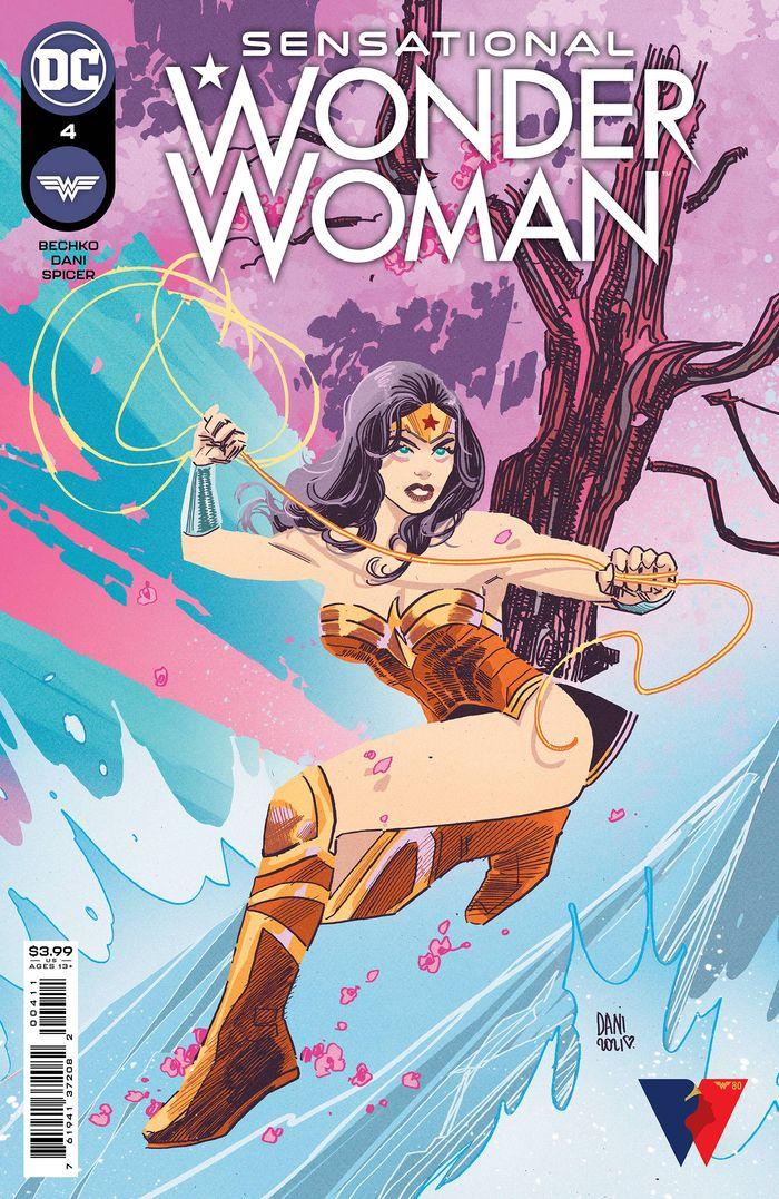 SENSATIONAL WONDER WOMAN #4 COVER A DANI