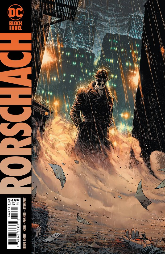 RORSCHACH #8 (OF 12) COVER B JIM CHEUNG VARIANT