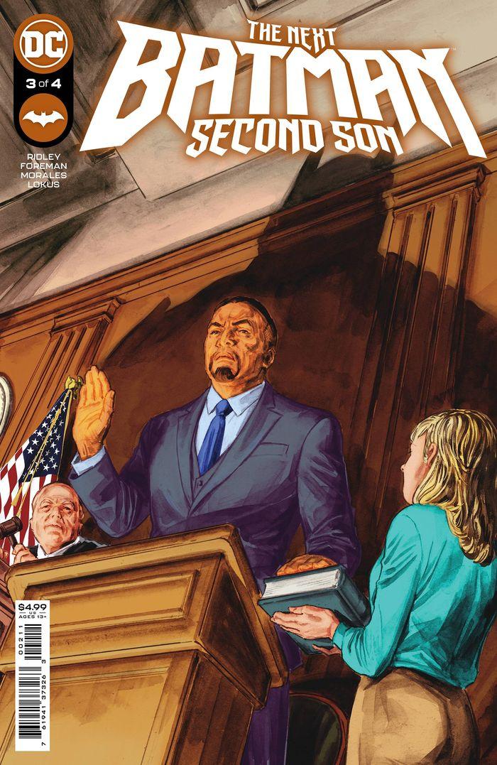 NEXT BATMAN SECOND SON #3 (OF 4) COVER A DOUG BRAITHWAITE