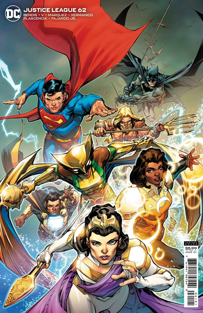 JUSTICE LEAGUE #62 COVER B