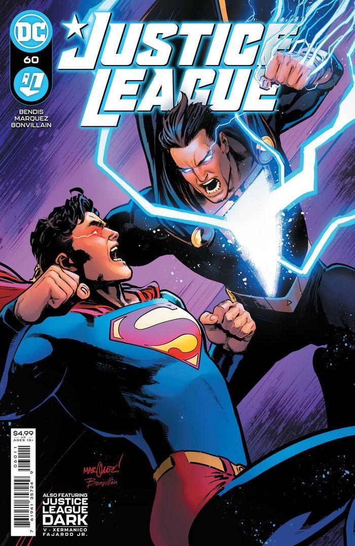 JUSTICE LEAGUE #60 COVER A DAVID MARQUE