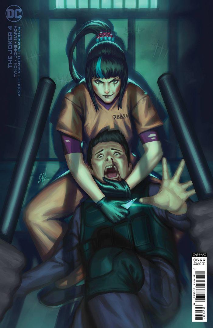 JOKER #4 COVER C EJIKURE VARIANT
