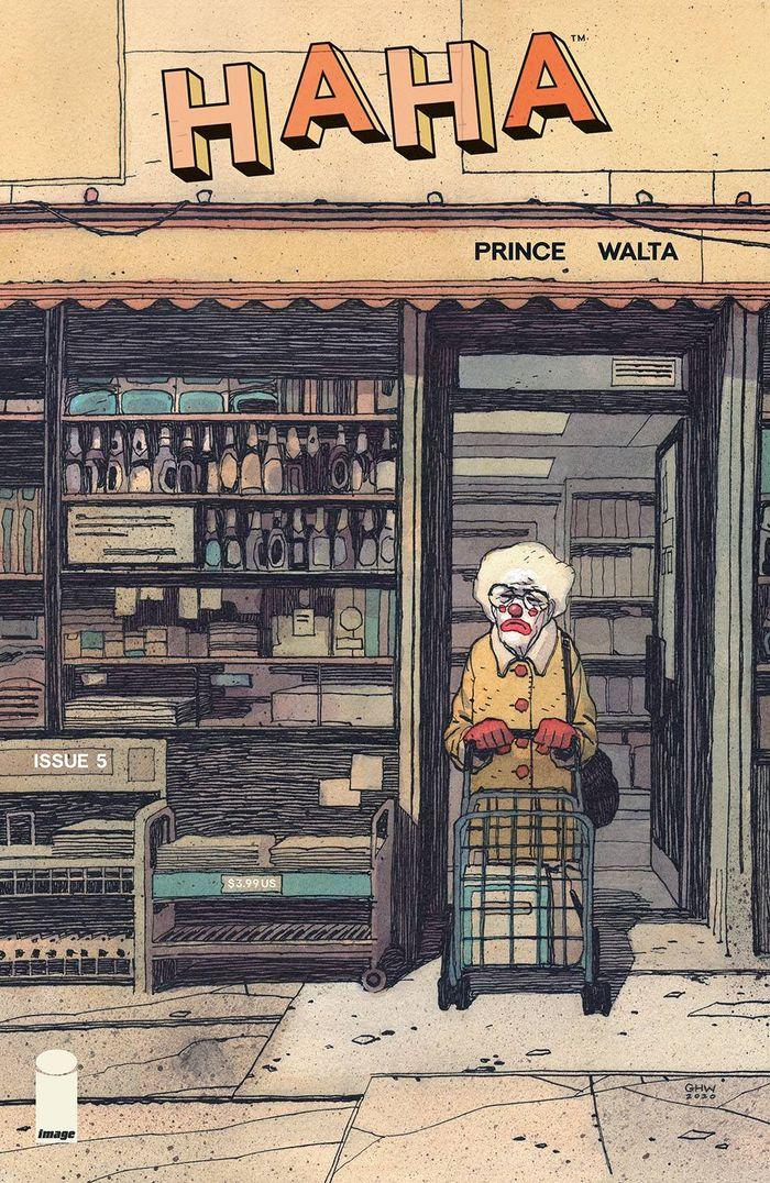 HAHA #5 (OF 6) COVER A WALTA