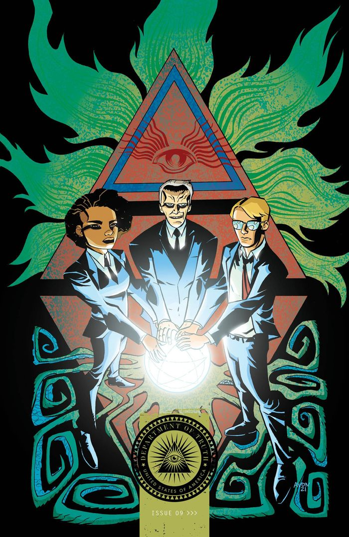 DEPARTMENT OF TRUTH #9 COVER B OEMING