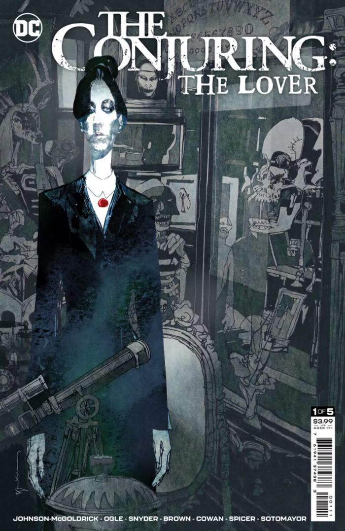 DC HORROR PRESENTS THE CONJURING THE LOVER #1 (OF 5) COVER A BILL SIENKIEWICZ