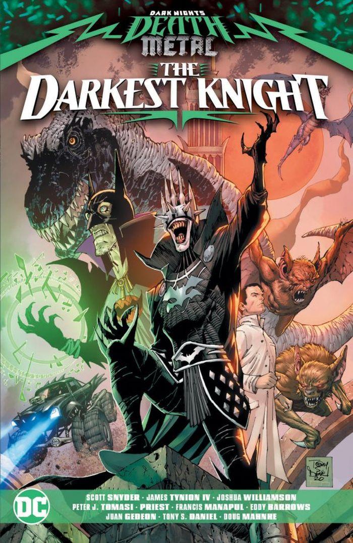 DARK NIGHTS DEATH METAL THE DARKEST KNIGHT TP