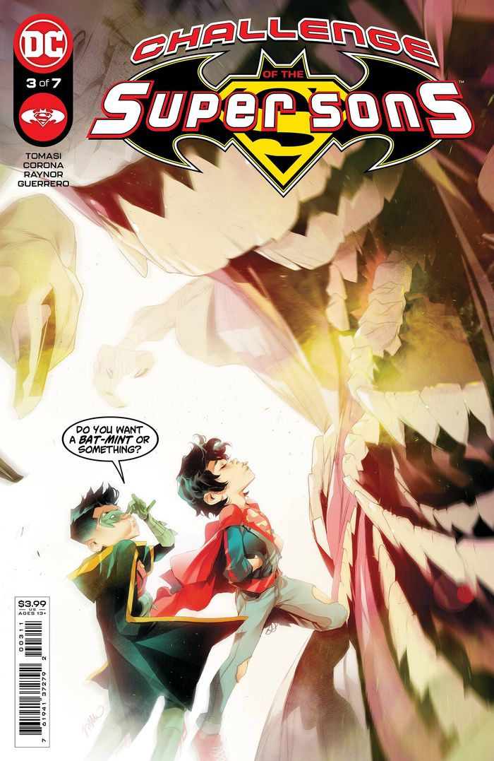 CHALLENGE OF THE SUPER SONS #3 (OF 7) COVER A SIMONE DI MEO