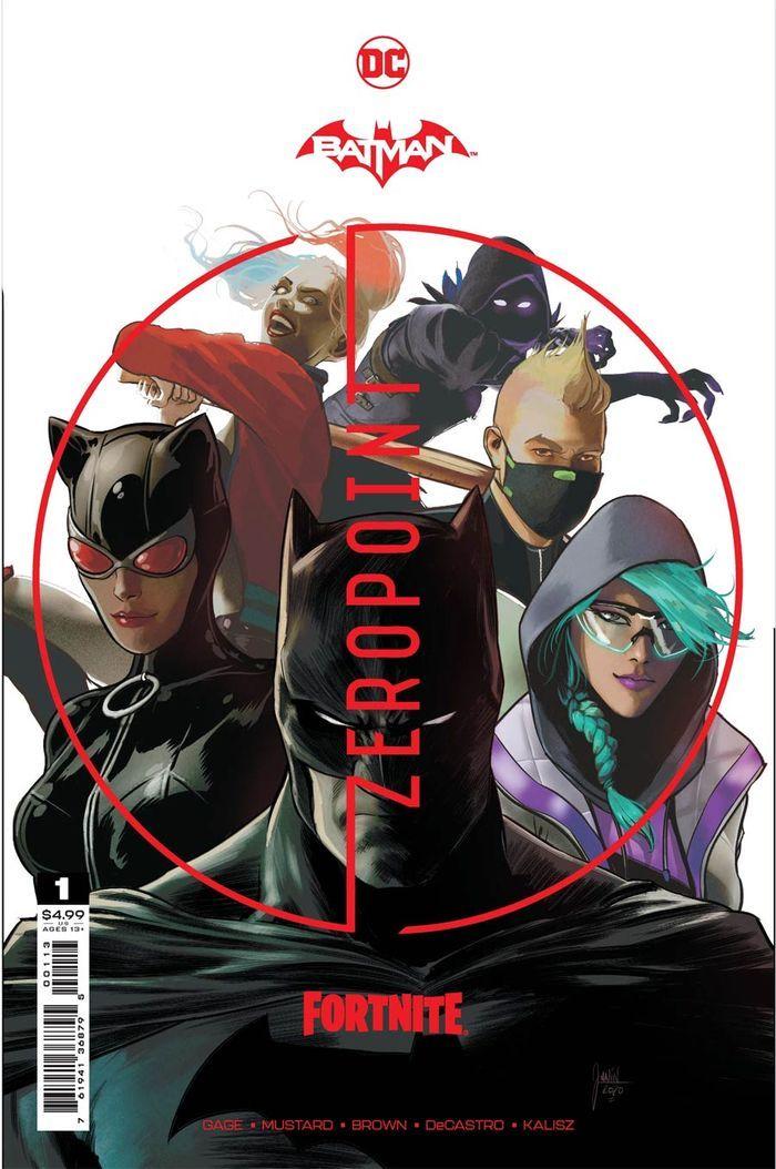 BATMAN FORTNITE ZERO POINT #1 3RD PTG