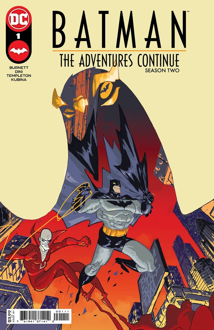 BATMAN THE ADVENTURES CONTINUE SEASON II #1 COVER A RILEY ROSSMO