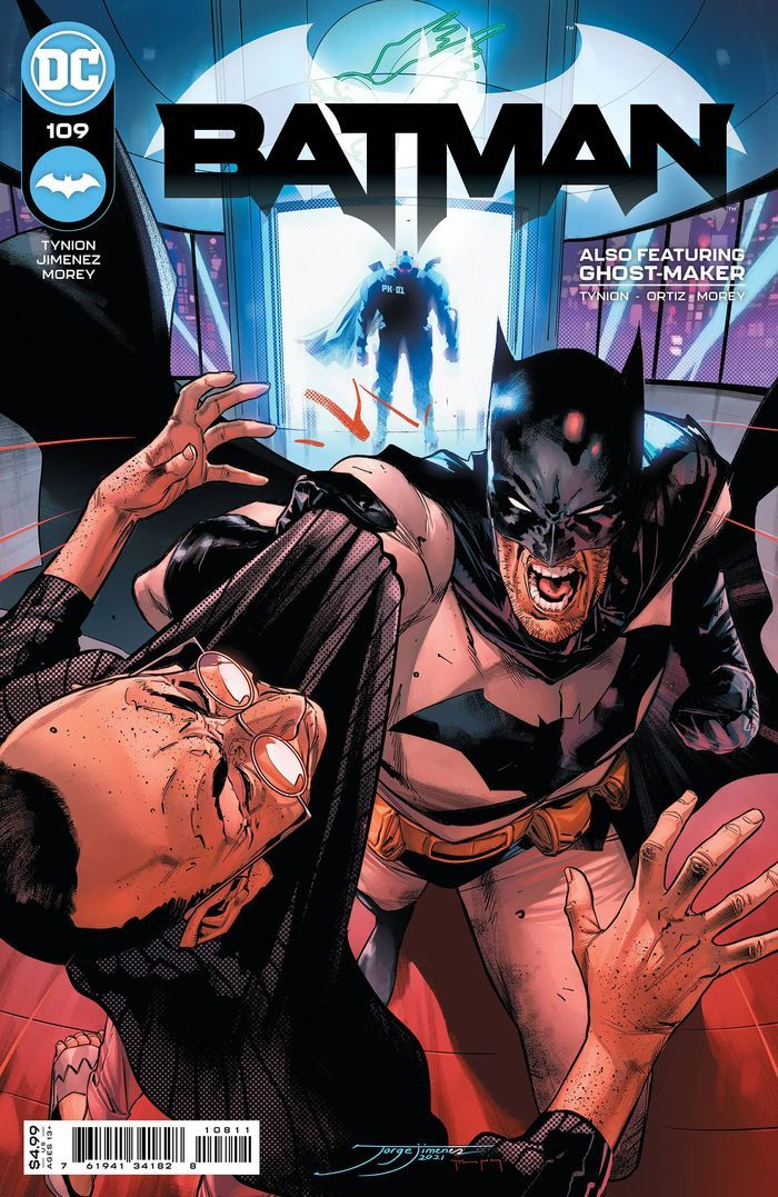 BATMAN #109 COVER A JORGE JIMENEZ
