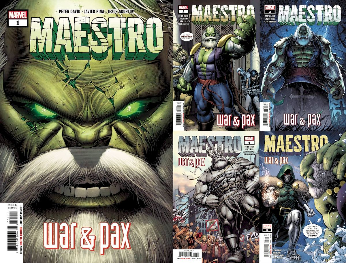 MAESTRO WAR AND PAX #1 - #5 (OF 5) SET