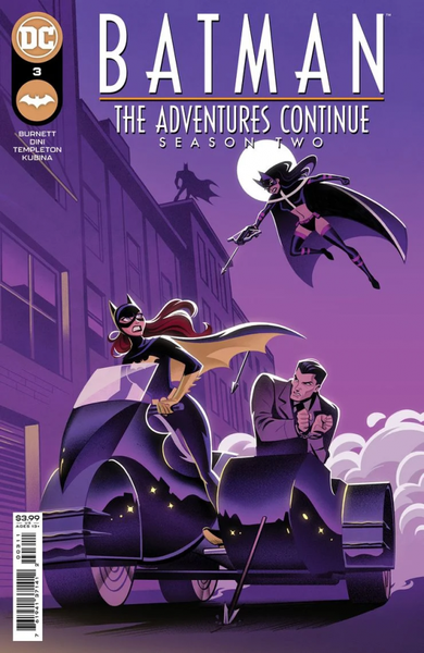 BATMAN THE ADVENTURES CONTINUE SEASON II #3 (OF 7) COVER A - ÖN SİPARİŞ KAPORA ÖDEMESİ