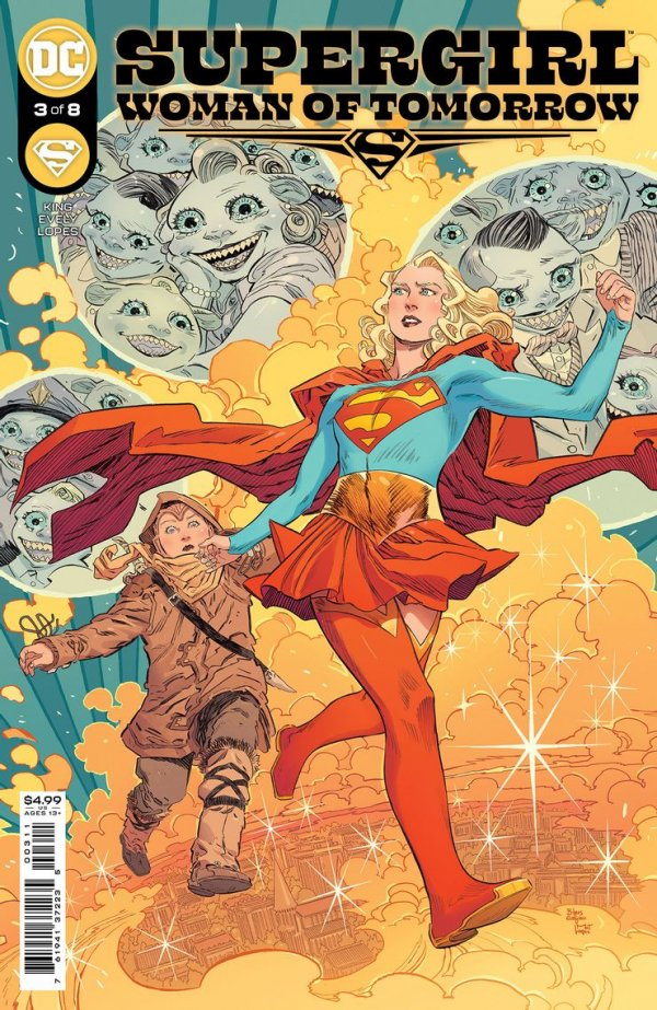 SUPERGIRL WOMAN OF TOMORROW #3 (OF 8) COVER A BILQUIS EVELY - ÖN SİPARİŞ KAPORA ÖDEMESİ